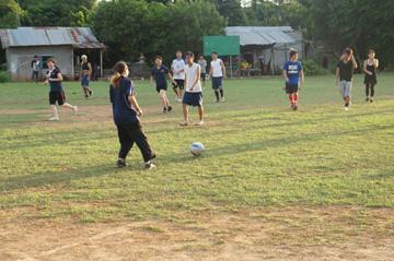 CUEサッカー大会シハヌーク学校5
