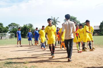 CUEサッカー大会シハヌーク学校7