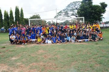 CUEサッカー大会シハヌーク学校8