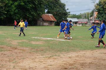 CUEサッカー大会シハヌーク学校9