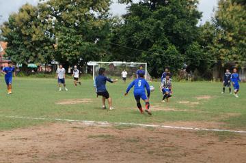 CUEサッカー大会シハヌーク学校10