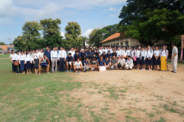 CUEサッカー大会シハヌーク学校11