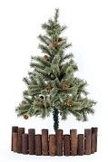クリスマスツリー足隠し