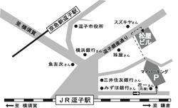 松屋周辺地図