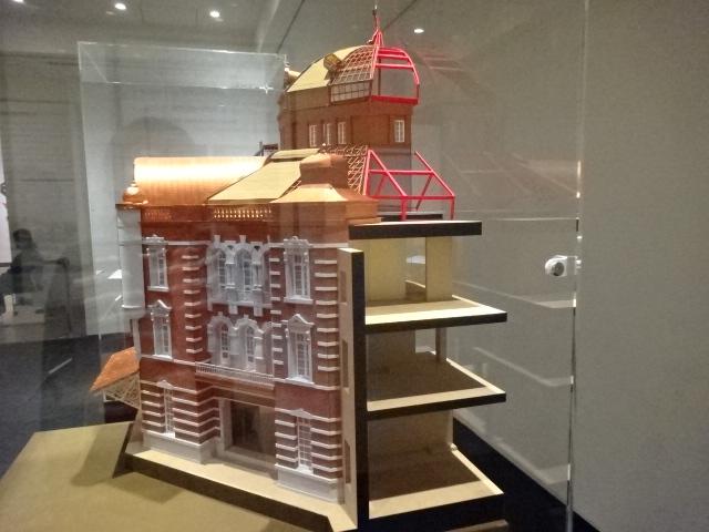 東京駅断面模型1