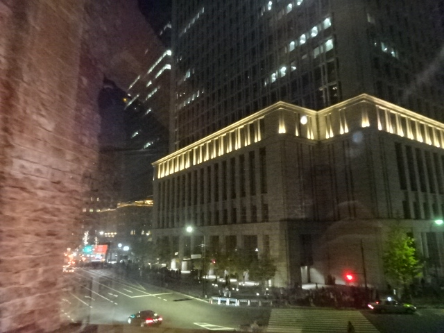 東京ステーションギャラリー 窓からの眺め