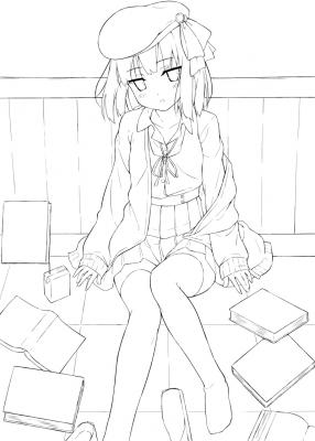 お遊び文学少女?