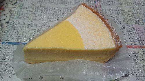 お願い!ランキングGOLD 名古屋めし総選挙&ケーキ総選挙 濃厚ベイクドチーズケーキ(シャトレーゼ)