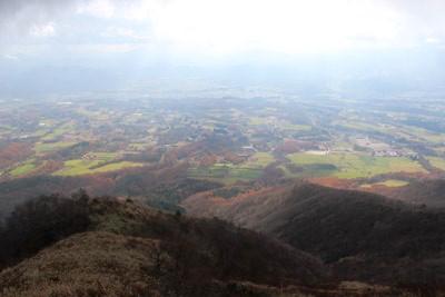 蒜山高原 俯瞰