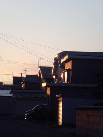 朝の日差し