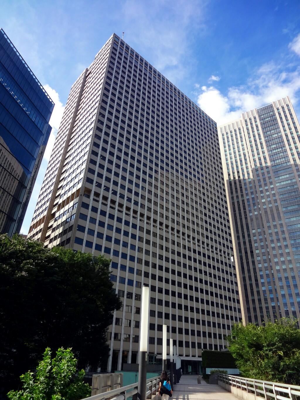 霞が関ビル - 超高層ビルと風景...