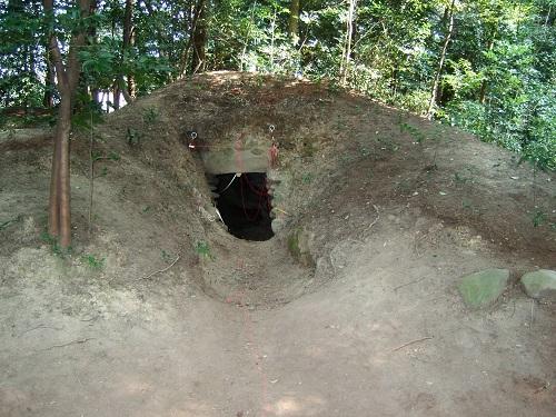 春日神社境内の古墳