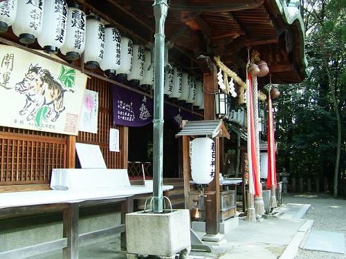 春日神社本殿(三林町)