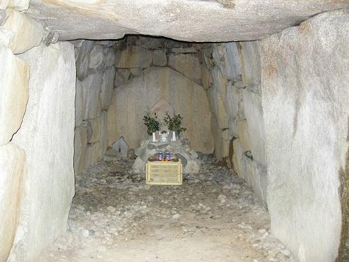 黒石町古墳の石室