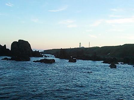 20131019 三段岩より灯台