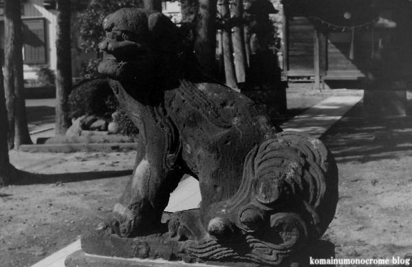 香取神社(さいたま市岩槻区大口)1