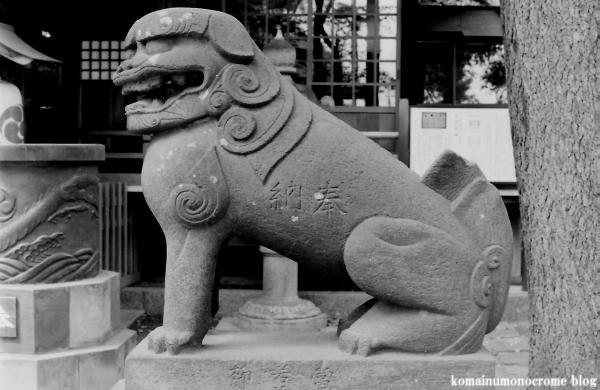 西堀氷川神社(さいたま市桜区西堀)1
