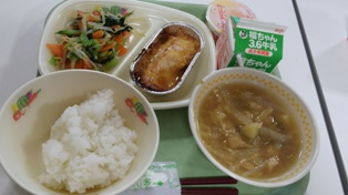 6月13日飯館村学校給食B