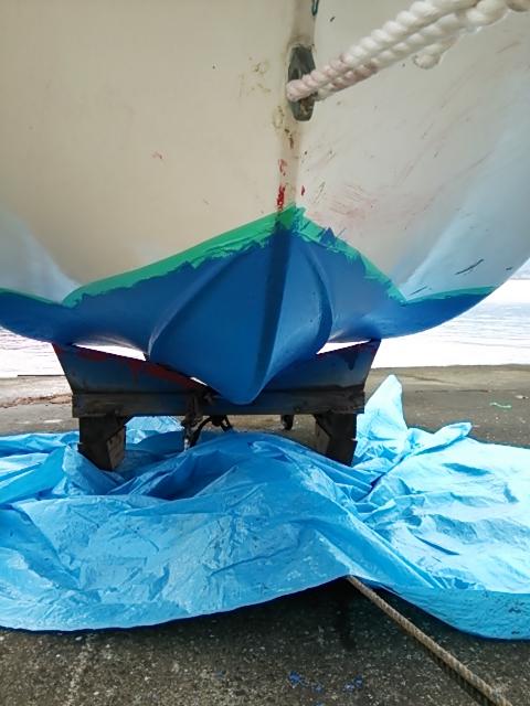 船底塗装10