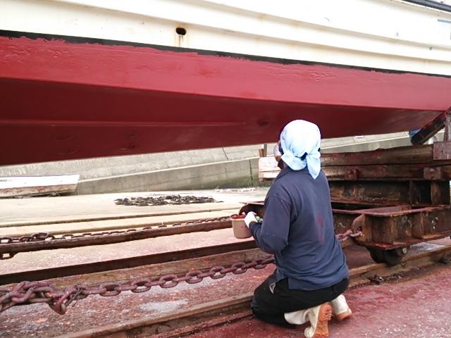 船底塗装12