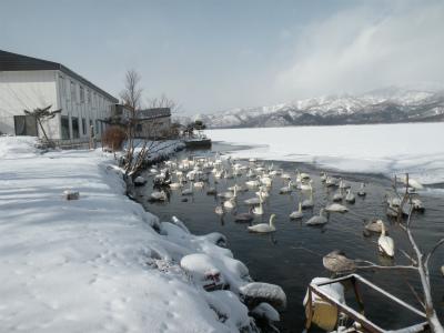 2月1日の屈斜路湖