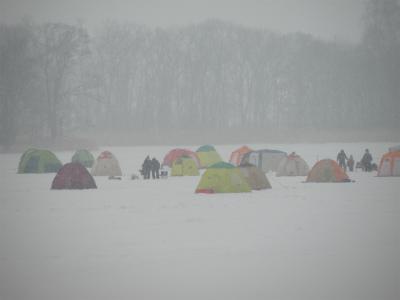 網走冬景色