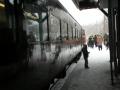 川湯温泉駅にSL列車