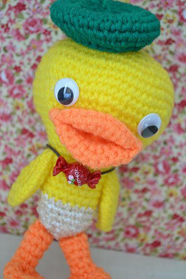 編みっこあひる