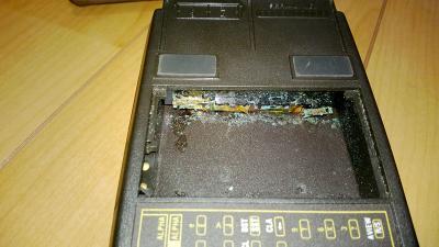 電池ボックスの本体側