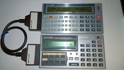 PC-1260と接続