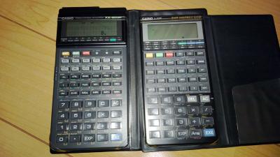 FX-603Pと並べてみました