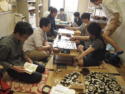 関学囲碁部風景
