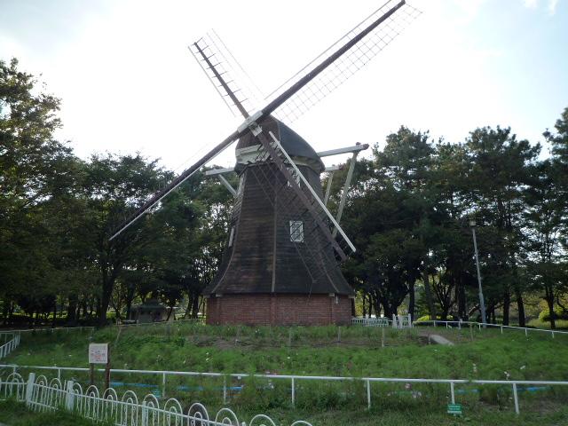 H24年10月7日名城公園風車