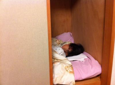 押し入れベッド