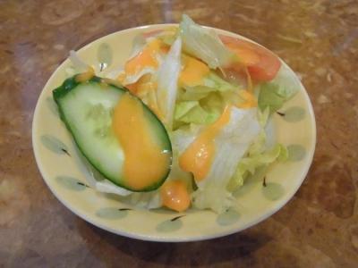 シュンドルボン(セットのサラダ)