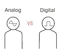 アナログVSデジタル