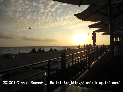 2010年1月 Sunset(Maitai Bar).jpg