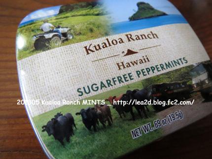 2013年5月 Kualoa Ranch Hawaii goods - MINTS