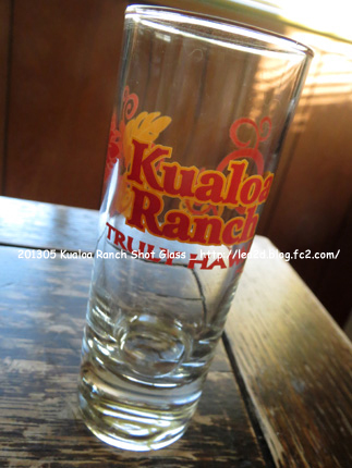2013年5月 Kualoa Ranch Hawaii goods - Shot Glass