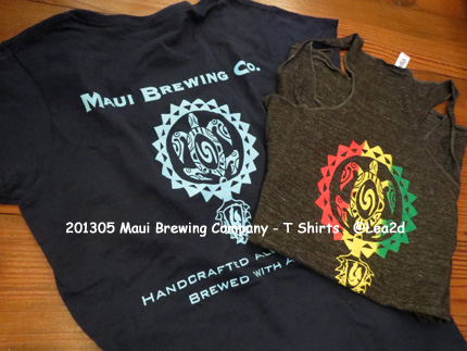 2013年5月 Maui Brewing Company - T Shirts