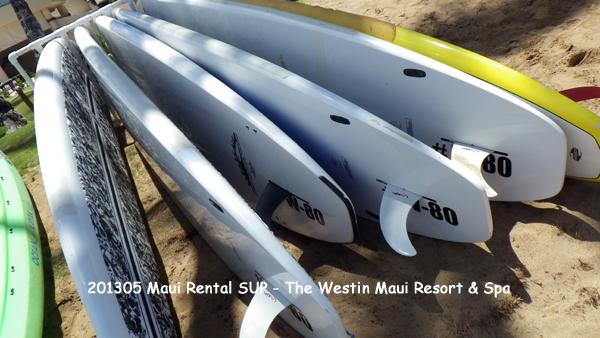 2013年5月 SUP(Stand up paddle)-Hawaii-Maui