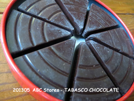 2013年5月 ABC Stores - TABASCO CHOCOLATE