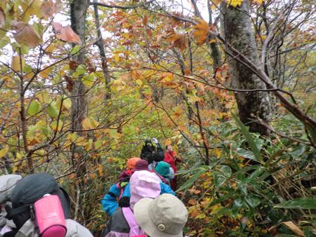 2013-10-13二ツ森登山