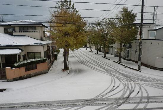 2013-11-13初雪の日