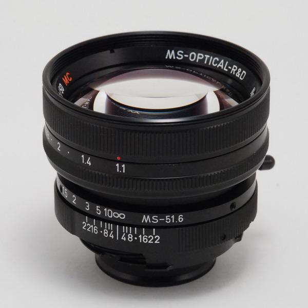 MS-OP SONNETAR50/1.1(Mマウント)ブラック_130826a