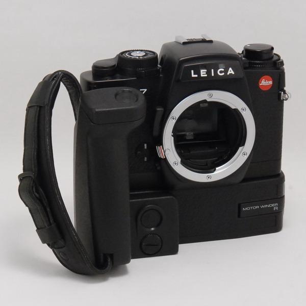 ライカ R7(BK)+モーターワインダーR_697566a