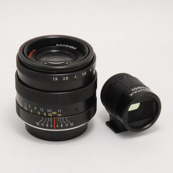 ペンタックス L43/1.9 Special(BK)+ファインダー_712184a