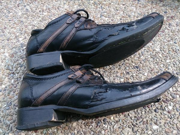 お気に入りの革靴 お疲れ様 20131101