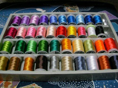 ミシン刺繍糸③