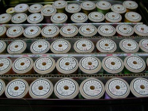 ミシン刺繍糸①